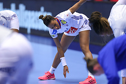 Estelle Nze Minko. EHF Euro 2020 Main Round group I match between France and Russia in Jyske Bank Boxen, Herning, Denmark on December 11, 2020. Photo Credit: Allan Jensen/EVENTMEDIA.