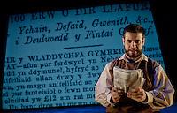 'The spirit of the Mimosa' production stills for Clwyd Theatr Cymru.