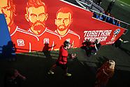 010917 Wales football team training