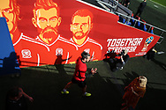 Gareth Bale of Wales walks out of the tunnel as he arrives for the Wales football team training at the Cardiff city Stadium in Cardiff , South Wales on Friday 1st September 2017.  the team are preparing for their FIFA World Cup qualifier home to Austria tomorrow.  pic by Andrew Orchard, Andrew Orchard sports photography