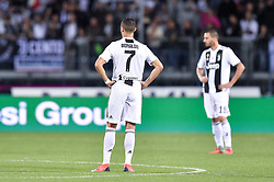 October 27, 2018 - Empoli, Florence, Italy - Cristiano Ronaldo of Juventus looks dejected during the Serie A match between Empoli and Juventus at Stadio Carlo Castellani, Empoli, Italy on 27 October 2018. (Credit Image: © Giuseppe Maffia/NurPhoto via ZUMA Press)