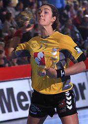 Sanja Damjanovic (11) at handball match of 2nd Round of EHF Women`s Championsleague between RK Krim Mercator (SLO) and Metz Handball (FRA), in Arena Kodeljevo, Ljubljana, Slovenia, on November 9, 2008. Metz  won match against RK Krim Mercator with 31:26.