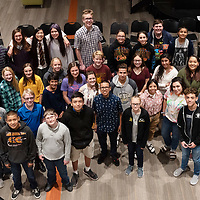In Rehoboth, 34 students of The Rehoboth Christian Choir Group pose for a group photo on Tuesday.