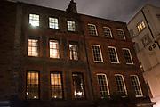 Installation Blacks club,  Nordic Delights, Light Festival, Soho, London, Conde Nast College, 12th January 2018,