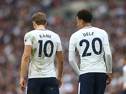 14 October 2017 Wembley: Premier League Football - Tottenham Hotspur v AFC Bournemouth: harry Kane and Dele Alli of Tottenham.<br /> Photo: Mark Leech