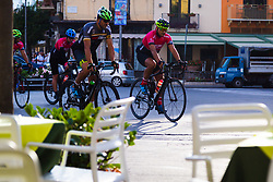 Sorrento, Italy, September 16 2017. Cyclists on an early morning ride in Sorrento, Italy. © Paul Davey