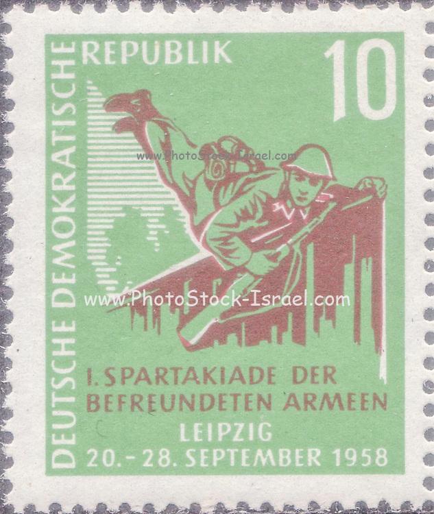 DDR [Deutsche Demokratische Republik (German Democratic Republic), official name of the former East Germany]