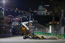 September 14, 2018 - Singapore, Singapore - Motorsports: FIA Formula One World Championship 2018, Grand Prix of Singapore, .#27 Nico Hulkenberg (GER, Renault Sport Formula One Team) (Credit Image: © Hoch Zwei via ZUMA Wire)