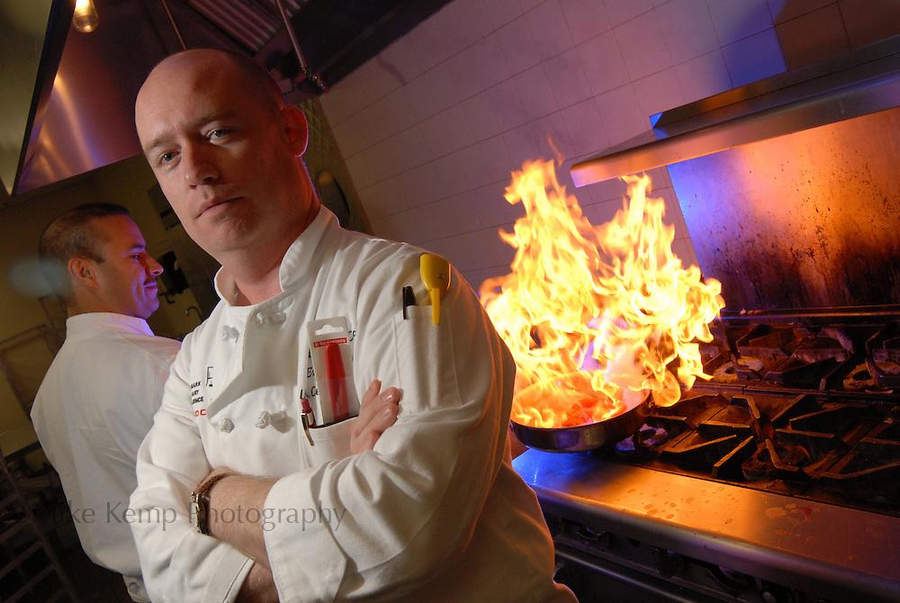 Chef Robert Hall, executive chef of Aramark at the University of Central Arkansas