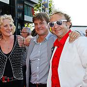 NLD/Utrecht/20100903 - Premiere Queen musical We Will Rock You, Gerrie van der Kleij, Jon van Eerd en partner Ton Fiere