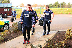 Billy Searle of Bristol Rugby arrives at Castle Park, for the fixture against Doncaster Knights - Mandatory by-line: Robbie Stephenson/JMP - 02/12/2017 - RUGBY - Castle Park - Doncaster, England - Doncaster Knights v Bristol Rugby - Greene King IPA Championship
