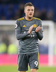 Leicester City's Jamie Vardy after the match