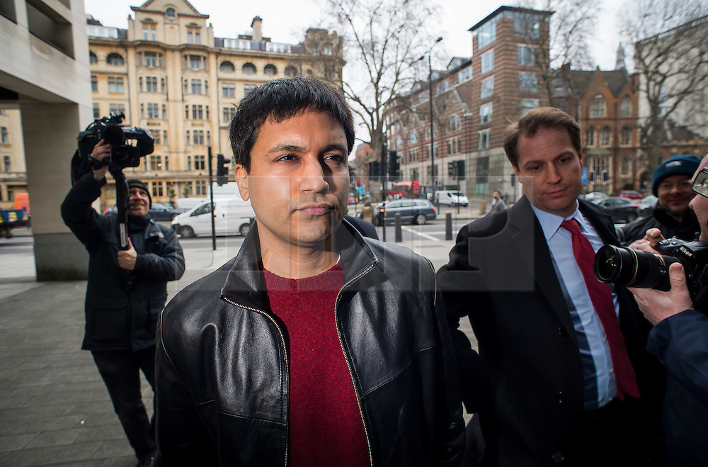 """© Licensed to London News Pictures. File pic dated 23/03/2016. London, UK.""""Flash crash"""" Trader NAVINDER SINGH SARAO arrives at Westminster Magistrates court in London. Sarao, nicknamed the Hound of Hounslow, pleaded guilty to fraud and illegally manipulating the market at a court in the USA. Photo credit: Ben Cawthra/LNP"""