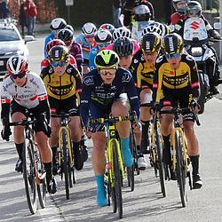 14-03-2021: Wielrennen: GP Oetingen: Oetingen: Kirsten Faulkner: Karol Ann Canuel: Marianne Vos