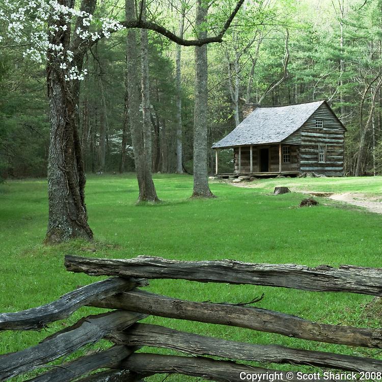 A small cabin in Cades Cove.