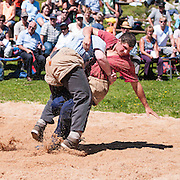 Foto von Schwinger beim Schwingfest auf Melchsee-Frutt
