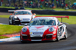 Dino Zamparelli | Bristol Sport Racing | #88 Porsche 911 GT3 Cup Car | Porsche Carrera Cup GB | Race 1 - Mandatory byline: Rogan Thomson/JMP - 07966 386802 - 23/08/2015 - MOTORSPORT - Knockhill Racing Circuit - Dunfermline, Scotland - BTCC Meeting Day 2.