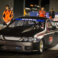 Errol Quartermaine (689) - Ford Falcon - Super Competition.