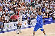 DESCRIZIONE : Campionato 2014/15 Serie A Beko Dinamo Banco di Sardegna Sassari - Grissin Bon Reggio Emilia Finale Playoff Gara4<br /> GIOCATORE : Amedeo Della Valle<br /> CATEGORIA : Tiro Tre Punti Three Point<br /> SQUADRA : Grissin Bon Reggio Emilia<br /> EVENTO : LegaBasket Serie A Beko 2014/2015<br /> GARA : Dinamo Banco di Sardegna Sassari - Grissin Bon Reggio Emilia Finale Playoff Gara4<br /> DATA : 20/06/2015<br /> SPORT : Pallacanestro <br /> AUTORE : Agenzia Ciamillo-Castoria/L.Canu