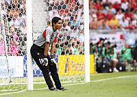 Photo: Chris Ratcliffe.<br /> England v Ecuador. 2nd Round, FIFA World Cup 2006. 25/06/2006.<br /> Cristian Mora of Ecuador.