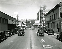 1928 Looking north up Wilcox Ave. at Hollywood Blvd.