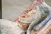 Tombs of Eleanor of Aquitaine Alienor d'Aquitaine. Abbaye Royale de Fontevraud abbey, Loire, France