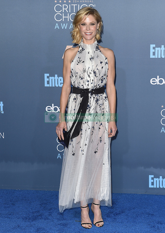 Stars attend the 22nd Annual Critics Choice Awards in Santa Monica, California. 11 Dec 2016 Pictured: Julie Bowen. Photo credit: Bauer Griffin / MEGA TheMegaAgency.com +1 888 505 6342
