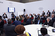 Olusola David-Borha, Chief Executive, Africa<br /> Standard Bank Group addresses participants at the World Economic Forum on Africa 2017 in Durban, South Africa. Copyright by World Economic Forum / Greg Beadle