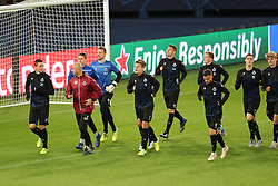 November 5, 2019, Paris, FRANCE: Club's players pictured during a training session of Belgian soccer team Club Brugge KV, Tuesday 05 November 2019 in Paris, France, in preparation of tomorrow's match against French club Paris Saint-Germain Football Club in the first round of the UEFA Champions League. BELGA PHOTO BRUNO FAHY (Credit Image: © Bruno Fahy/Belga via ZUMA Press)