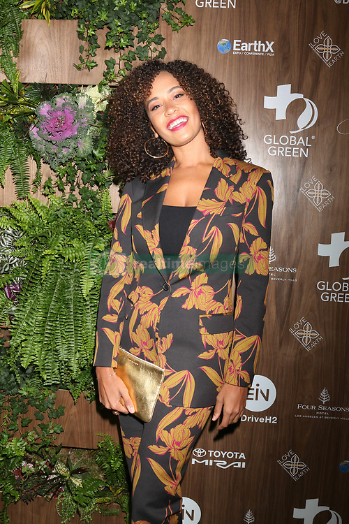 February 20, 2019 - Beverly Hills, CA, USA - LOS ANGELES - FEB 20:  Danni Washington at the Global Green 2019 Pre-Oscar Gala at the Four Seasons Hotel on February 20, 2019 in Beverly Hills, CA (Credit Image: © Kay Blake/ZUMA Wire)