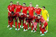 Team of Switzerland during the UEFA Euro 2020, Group A football match between Switzerland and Turkey on June 20, 2021 at Baku Olympic Stadium in Baku, Azerbaijan - Photo Orange Pictures / ProSportsImages / DPPI