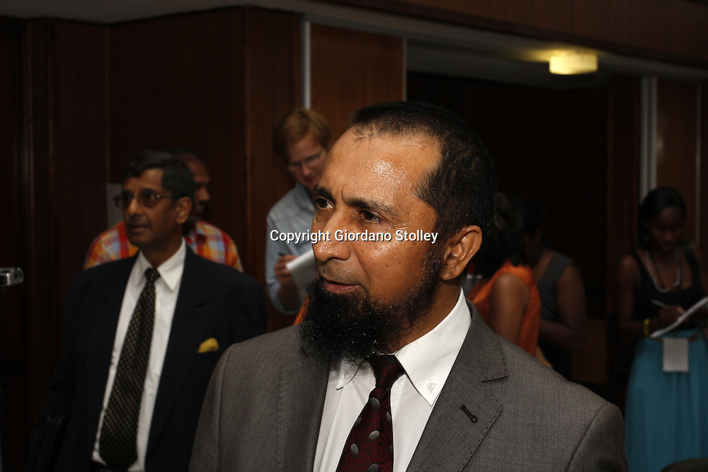 DURBAN - 11 February 2014 - Advocate Saleem Khan at the commission of inquiry established by the department of labour to investigate events that led to a Tongaat Mall collapsing, killing two people and injuring 29 on November 19, 2013. Khan is representing the builder Gralio Precast (Pty) Ltd and Rectangle Property Investments -- both companies have been linked to controversial businessman Jay Singh. Picture: Allied Picture Press/APP
