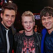 NLD/Hilversum/20121214 - Finale The Voice of Holland 2012, Nick & Simon en Johannes Rypma