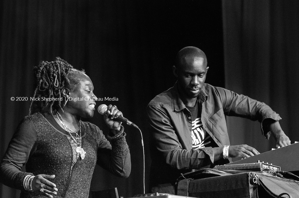 Joe Ariwa and Zakeya give a powerful and connected performance at Fairfield Halls in London. Mad Professor and Ariwa Sounds at the Croydon Dub Club presented by STAND! 28th March, 2015