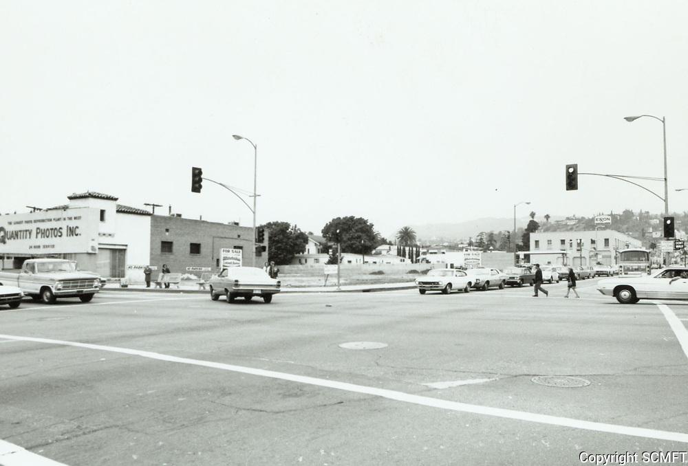 1974 Sunset Blvd. & Western Ave.