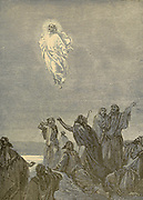 Ascension of Jesus From ' The pictorial Catholic library ' containing seven volumes in one: History of the Blessed Virgin -- The dove of the tabernacle -- Catholic history -- Apparition of the Blessed Virgin -- A chronological index -- Pastoral letters of the Third Plenary. Council -- A chaplet of verses -- Catholic hymns  Published in New York by Murphy & McCarthy in 1887