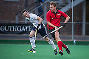 Southgate M2 v East Grinstead M2 - England Hockey 2nd XI Cup, Trent Park, London, UK on 27 November 2016. Photo: Simon Parker
