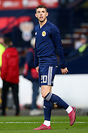 Scotland midfielder Ryan Christie (20) (Celtic) during the UEFA European 2020 Qualifier match between Scotland and Russia at Hampden Park, Glasgow, United Kingdom on 6 September 2019.