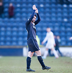 Falkirk's Mark Millar at the end.<br /> Raith Rovers 2 v 4 Falkirk, Scottish Championship game today at Starks Park.<br /> © Michael Schofield.