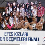 EFES KIZLARI Yeni Sezon Secmeleri Finaller 27 Haziran 2011. Foto: TURKPIX