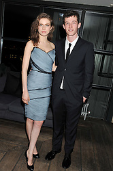 TALI LENNOX and CALLUM TURNER at the InStyle Best of British Talent Event in association with Lancôme and Avenue 32 held at The Rooftop Restaurant, Shoreditch House, Ebor Street, London E1 on 30th January 2013.