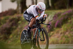 Lisa Klein (GER) at the 2020 UEC Road European Championships - Elite Women ITT, a 25.6 km individual time trial in Plouay, France on August 24, 2020. Photo by Sean Robinson/velofocus.com