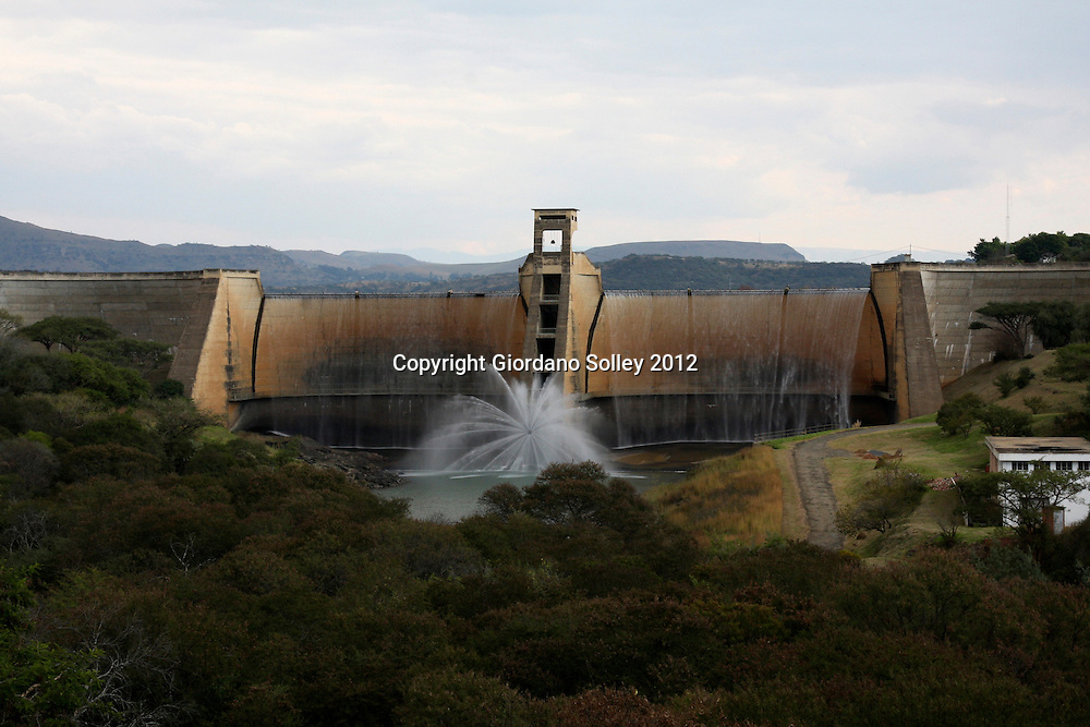 ESTCOURT, KWAZULU-NATAL - 10 May 2012 - The Wagendrift Dam is a dam on the Bushman River (Boesmansrivier), upstream of the town of Estcourt in South Africa's KwaZulu-Natal province. It was completed in 1963.