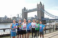 Virgin London Marathon 2014 - Celebrities Photocall