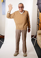Stan Lee in his office in Beverly Hills, CA. Photo by David Sprague