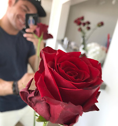 """Zac Efron releases a photo on Instagram with the following caption: """"Happy Valentine\u2019s Day! I love you all \u2764\ufe0f"""". Photo Credit: Instagram *** No USA Distribution *** For Editorial Use Only *** Not to be Published in Books or Photo Books ***  Please note: Fees charged by the agency are for the agency's services only, and do not, nor are they intended to, convey to the user any ownership of Copyright or License in the material. The agency does not claim any ownership including but not limited to Copyright or License in the attached material. By publishing this material you expressly agree to indemnify and to hold the agency and its directors, shareholders and employees harmless from any loss, claims, damages, demands, expenses (including legal fees), or any causes of action or allegation against the agency arising out of or connected in any way with publication of the material."""