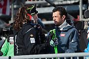 10.Feb.2013; Schladming; Ski alpin WM 2013 - Abfahrt Frauen; (Valeriano Di Domenico/freshfocus)