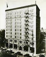 1926 Plaza Hotel on Vine St.