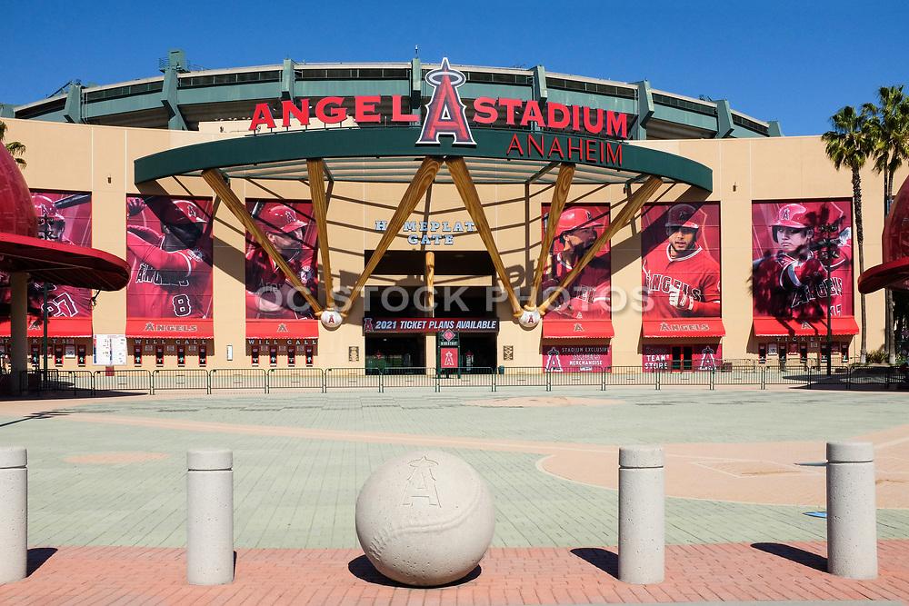 Homeplate Gate at Angel Stadium