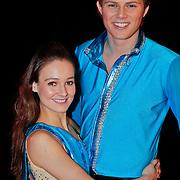 NLD/Utrecht/20110126 - Perspresentatie Sterren Dansen op het IJs 2011, Tim Douwsma en Laura Doty